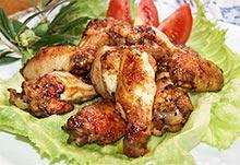 Рецепты из курицы - куриные крылышки