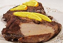 Рецепты из курицы - маринованная куриная грудка