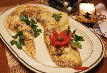 Курица - рецепт салата Змея