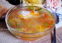 Рецепт куриного супа с рисом