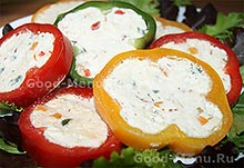 Перец с сыром