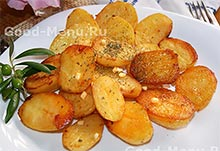 Картошка запеченная в духовке