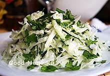 Рецепт салата из редьки