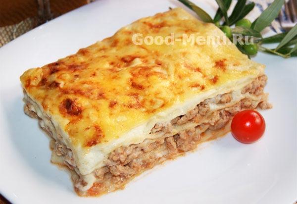 лазанья рецепт с фото пошагово