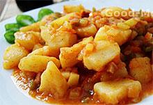 Соте с картофелем