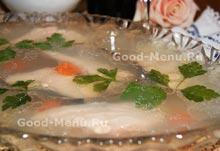 Холодная закуска - заливное