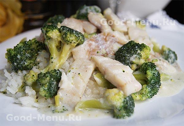 Рецепт диетических блюд из брокколи с фото