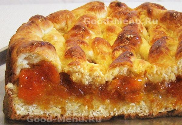 пирог с вареньем в духовке рецепт с фото рецепт