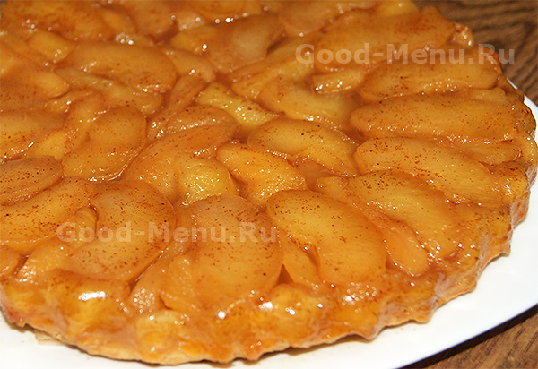 тартатен с яблоками пошаговый рецепт с фото