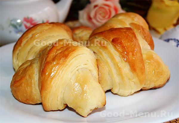 пирожки круассаны рецепт