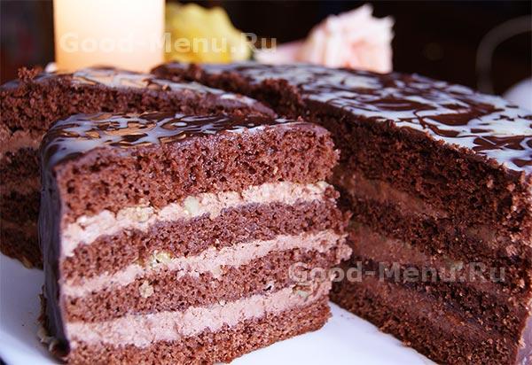 Торт Прага - рецепт