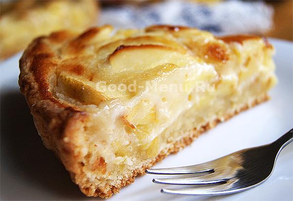 рецепт выпечка с яблоками