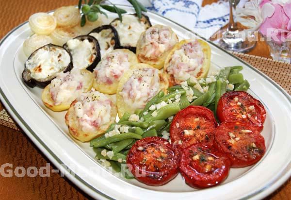 Овощи запеченные в духовке на праздничный стол рецепты