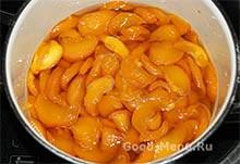 Персиковое варенье 5 минут