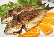 Рыба маринованная в соевом соусе